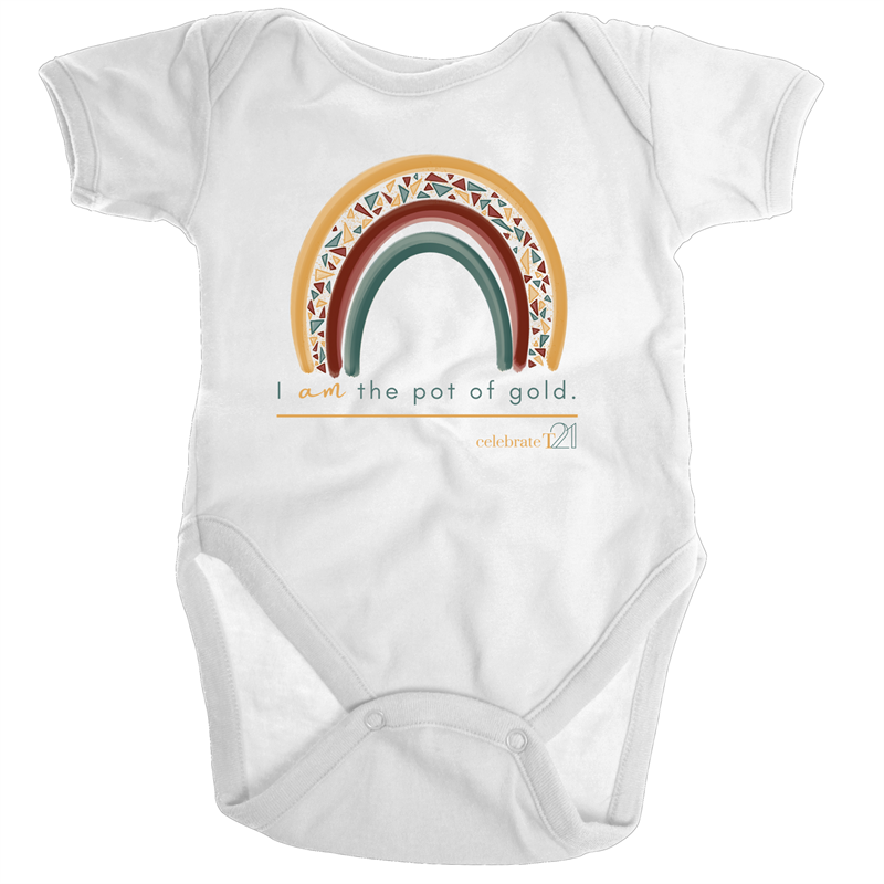 I Am The Pot Of Gold - JEWELS Organic Baby Onesie
