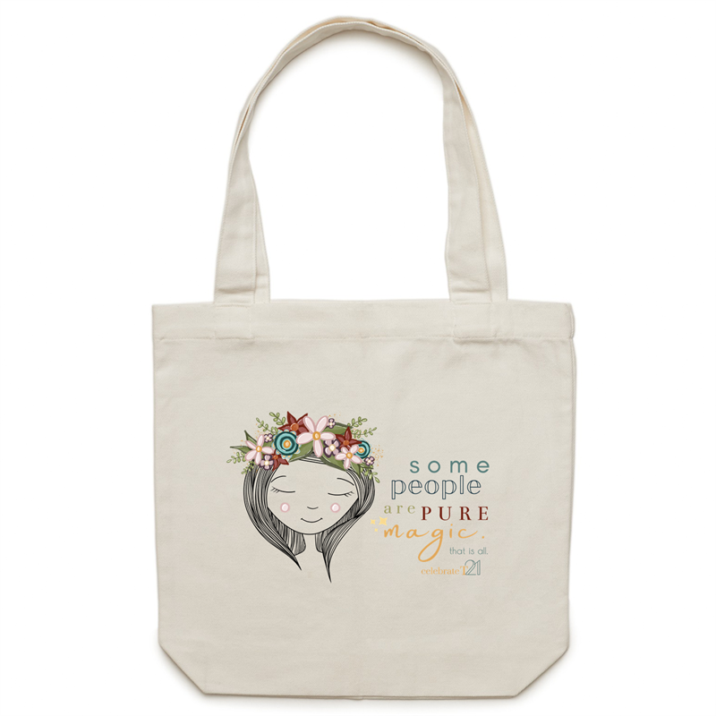 Some People Girl -AS Colour - Carrie - Canvas Tote Bag