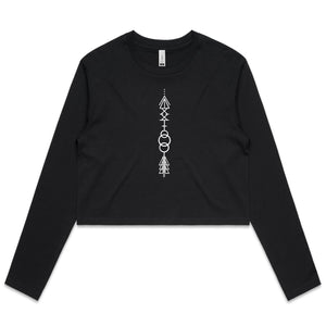 Arrow - AS Colour - Women's Long Sleeve Crop Tee