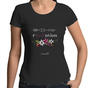 Arrow Revolution – Assorted Colours - AS Colour Mali - Womens Scoop Neck T-Shirt