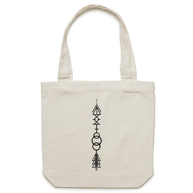 T21 Arrow – AS Colour - Carrie - Canvas Tote Bag