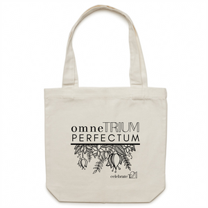 'OTP Flowers' - AS Colour - Carrie - Canvas Tote Bag