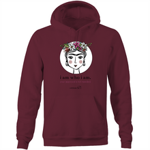 Load image into Gallery viewer, Frida I Am – Assorted Colours - AS Colour Stencil - Pocket Hoodie Sweatshirt