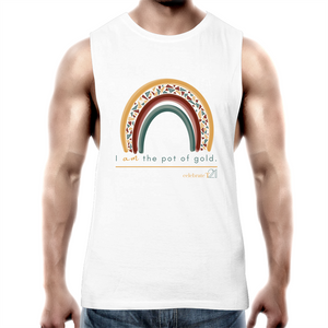 Rainbow Jewels - AS Colour Barnard - Mens Tank Top Tee