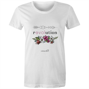 Arrow Revolution – Assorted Colours - AS Colour - Women's Maple Tee