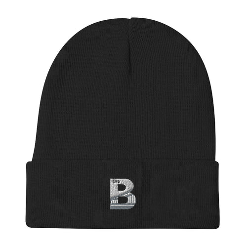 Embroidered Beanie UNISEX (Black)