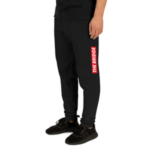 """Red Bar"" Unisex Joggers"