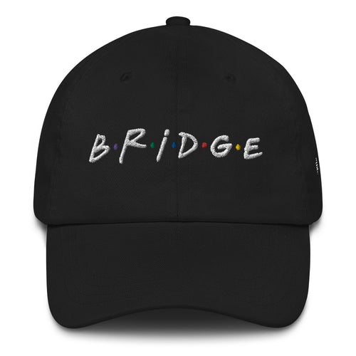 B•R•I•D•G•E Embroidered Dad hat