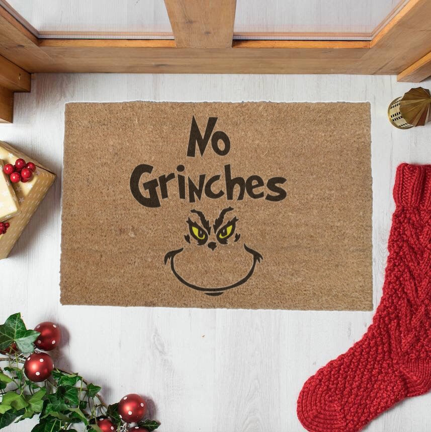 No Grinches Doormat