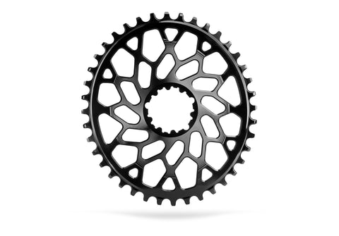 Oval Sram CX Direct Mount GXP & BB30 - BLACK | 38T