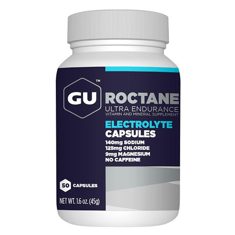 GU Roctane Electrolyte Capsules, 50ct Bottle