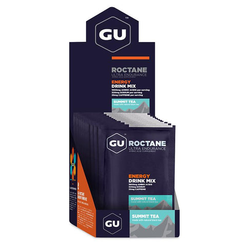 GU Box Roctane Energy Drink Mix, Summit Tea