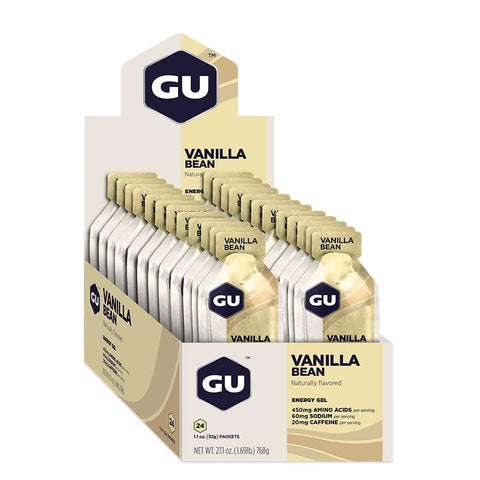 GU Box Energy Gel, Vanilla Bean