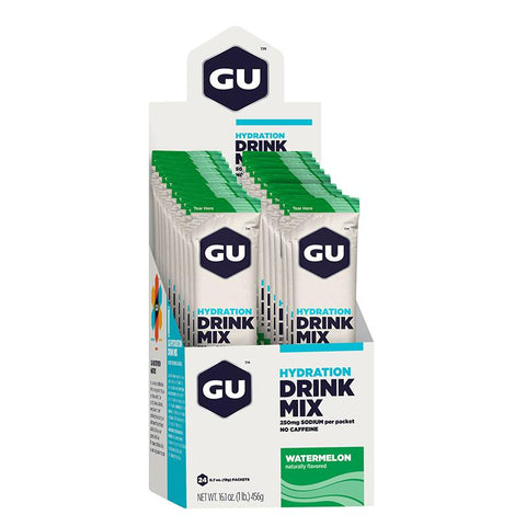 GU Box Hydration Drink Mix, Watermelon