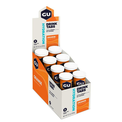 GU Box Hydration Drink Tabs, Orange