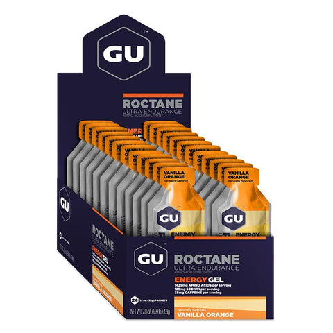 GU Box Roctane Energy Gel, Vanilla Orange