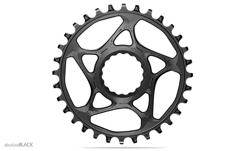 ROUND RF Boost148 chainring black | 34T