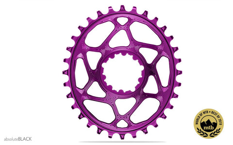 Oval Sram Direct Mount BOOST148 - PURPLE (3mm offset) | 34T