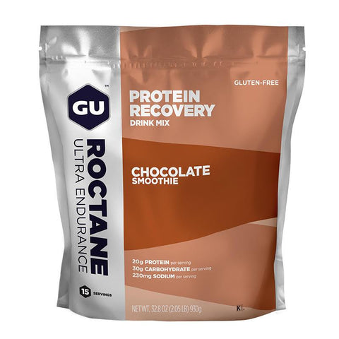 GU Roctane Protein Recovery Drink Mix, Chocolate Smoothie