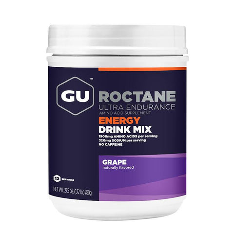 GU Roctane Energy Drink Mix | 12srv Canister, Grape
