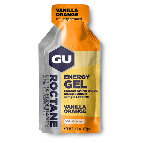 GU Roctane Energy Gel, Vanilla Orange