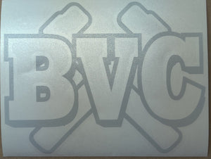 BVC Hammers Decal