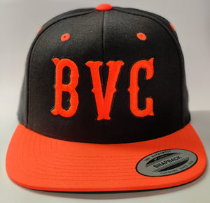 BVC Neon Orange/Black Snapback