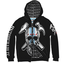 Load image into Gallery viewer, BVC Custom Hoodie Zip Up