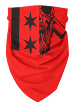 Load image into Gallery viewer, BVChicago Stars bandana