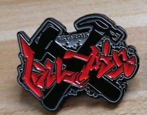 Villian Graffiti Pins