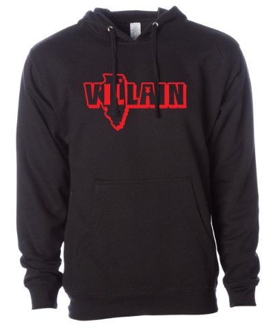 Red Villain - Pullover Hoodie