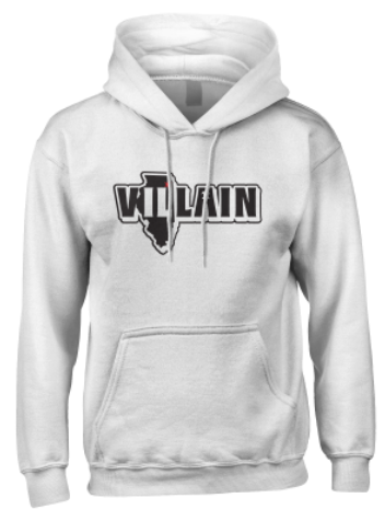 Villain - Pullover Hoodie - LIMITED WHITE