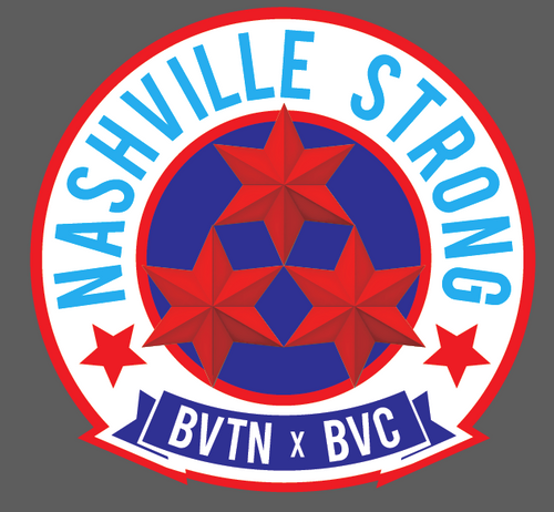 Nashville Strong - BVTN x BVC Patch