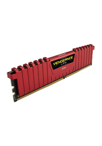 Corsair Vengeance LPX 8GB (8GBX1) DDR4 2400MHz Red - Hotshiftpc
