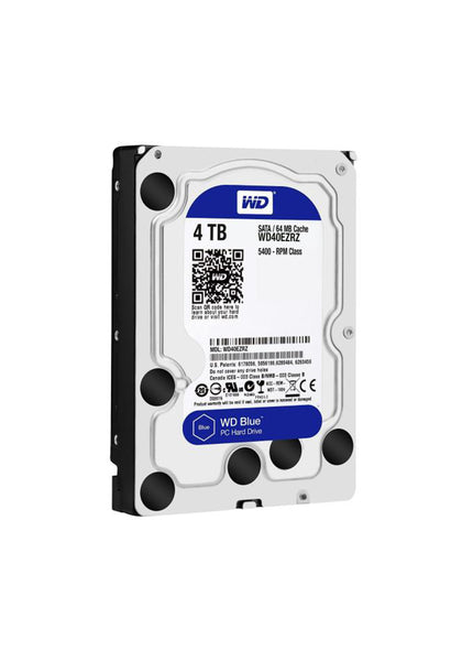 WESTERN DIGITAL DESKTOP HARD DRIVE 4TB BLUE - Hotshiftpc