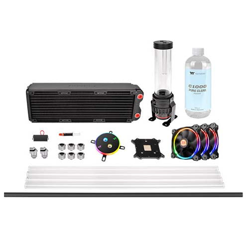 Thermaltake Pacific M360 D5 Hard Tube Custom Liquid Cooling Kit