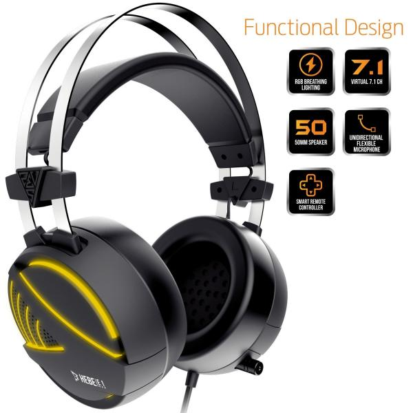 Gamdias HEBE M1 RGB Gaming Headset