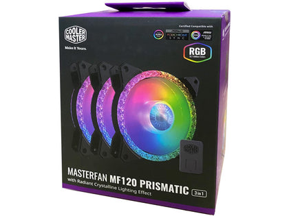 Cooler Master MasterFan MF120 Prismatic ARGB 3IN1 PACK