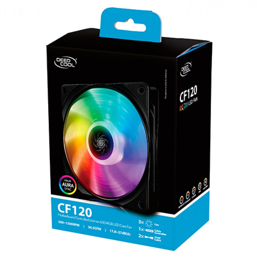 DEEPCOOL CF120 (SINGLE) 120MM