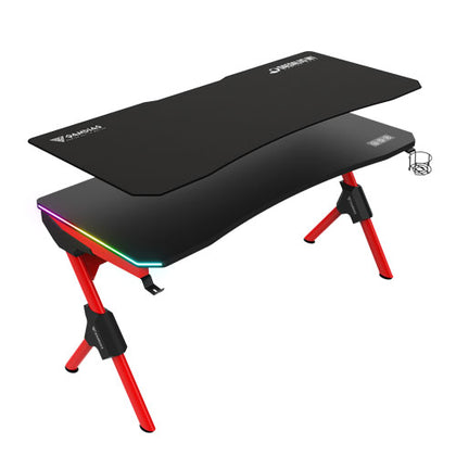 Gamdias Daedalus M1 RGB Black/Red Gaming Desk