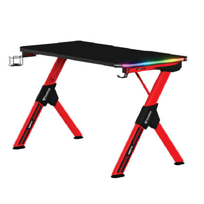 Gamdias Daedalus M2 RGB Black/Red Gaming Desk