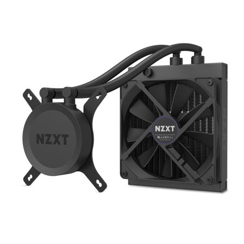 NZXT H1 Mini ITX White Case with PSU (Incluing AIO and Riser Card) CA-H16WR-WB-US