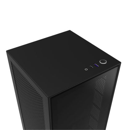 NZXT H1 Mini ITX Black Case with PSU (Incluing AIO and Riser Card) CA-H16WR-BB-US