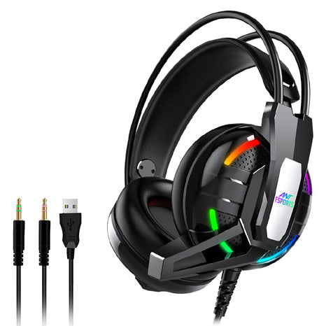 Ant Esports H630 RGB Gaming Headset (Black)