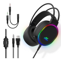 Ant Esports H1000 Wired Gaming Headset with Mic & RGB Light