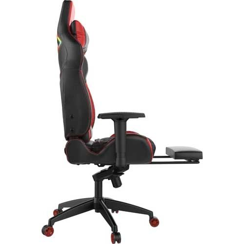 Gamdias Achilles P1 L  RGB Black/Red Gaming Chair