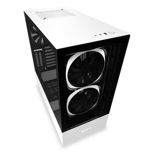 Nzxt H510 Elite (Matte White) Gaming Cabinet