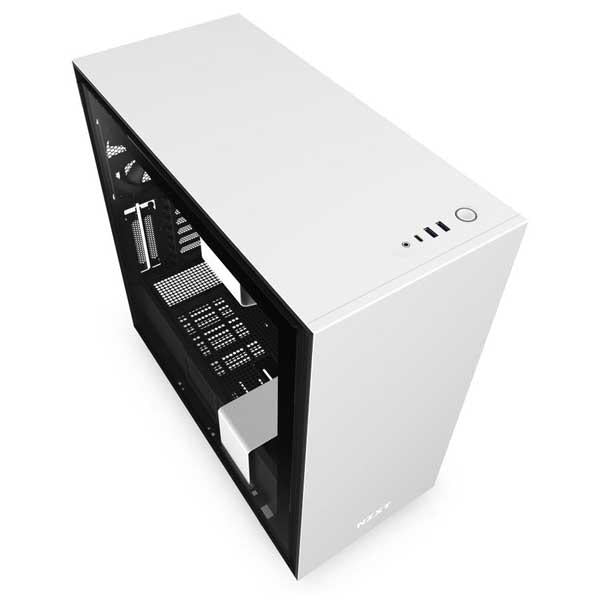 Nzxt H710 (Matte White) Gaming Cabinet