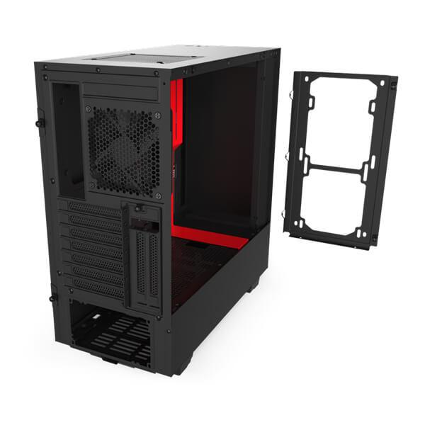 Nzxt H510i (Black-Red) Gaming Cabinet