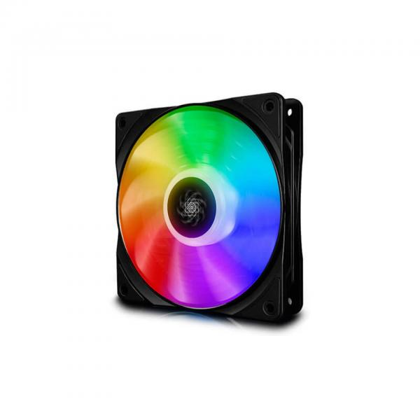 DEEPCOOL CF120 (TRIPLE PACK) 120MM  3 IN 1 ARGB  WITH RGB FAN CONTROLLER